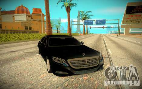 Mercedes-Benz S-class W222 2014 для GTA San Andreas
