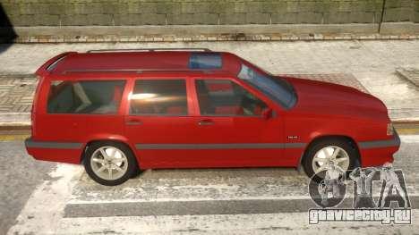 Volvo 850R для GTA 4 вид сзади
