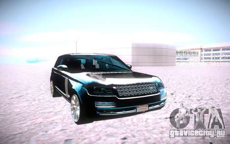 Land Rover Range Rover Supercharged для GTA San Andreas