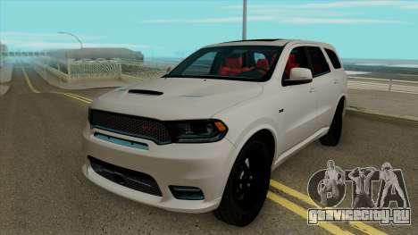 Dodge Durango SRT 2018 для GTA San Andreas