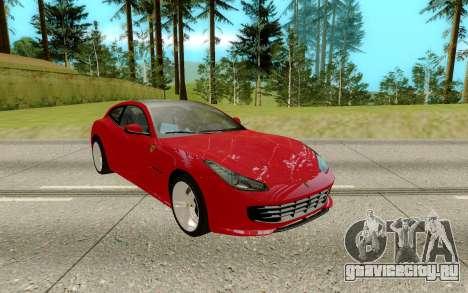Ferrari GTC4 для GTA San Andreas