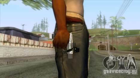 The Doomsday Heist - Pistol v1 для GTA San Andreas