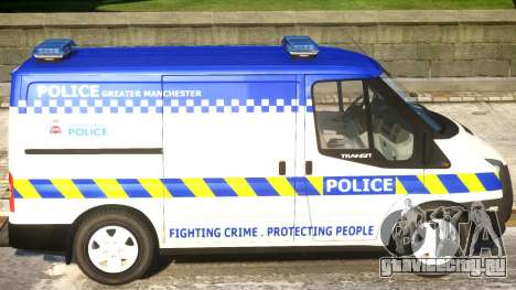 British Manchester Police Ford Transit для GTA 4