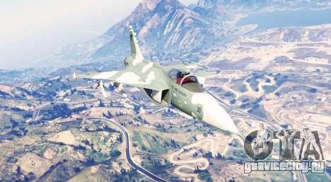 Saab JAS 39 Gripen [replace] для GTA 5