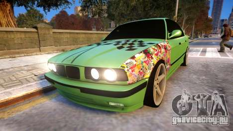 BMW M5 E34 Monster vs Turbo Style для GTA 4