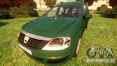 Dacia Logan MCV для GTA 4