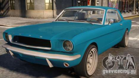 1965 Ford Mustang для GTA 4