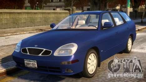 Daewoo Nubira II Kombi CDX US 2002 для GTA 4