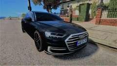 Audi A8 2017 D5 для GTA 4