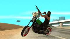 Freeway MFR Biker Gang Tuning Concept 180KmH для GTA San Andreas