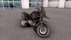 Мотоцикл из игры PUBG