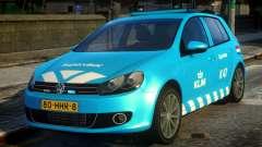 Volkswagen Golf Supervisor KLM для GTA 4