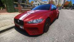 Jaguar XE SV Project 8 2017 v1.0 для GTA 4