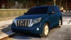 Toyota Land Cruiser Prado 150 2016 для GTA 4
