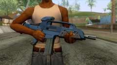 XM8 Compact Rifle Blue для GTA San Andreas