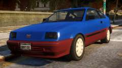 Vintage Blista для GTA 4