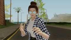 Mai Shiranui Korean Style v3 для GTA San Andreas