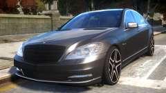 Mercedes-Benz w221 S7.0 v1.0 для GTA 4
