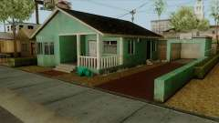 Big Smoke House Retextured для GTA San Andreas