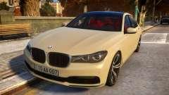 2016 BMW 7-series G12 Long для GTA 4