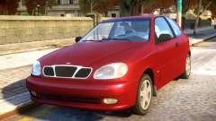Daewoo Lanos 3-door SX US 1999 для GTA 4