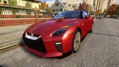 Nissan GTR 17 Premium для GTA 4