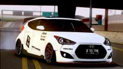 Hyundai Veloster Turbo Capruk Works Kit для GTA San Andreas