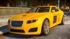 Lampadati Felon Taxi для GTA 4