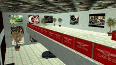 Автосалон QMGS V2 для GTA San Andreas