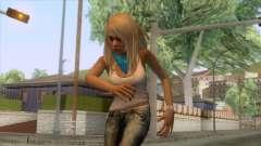 Jasmine Sanders Skin для GTA San Andreas