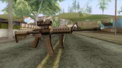 M4A1 with Aimpoint Sight для GTA San Andreas
