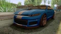 GTA 5 - Vapid Dominator GT350R для GTA San Andreas