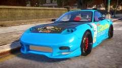 Mazda RX-7 KJC для GTA 4