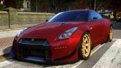 Nissan GTR R35 Rocket Bunny Beta для GTA 4
