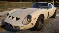 1962 Ferrari 250 GTO для GTA 4