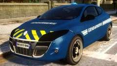 Renault Megane Gendarmerie для GTA 4