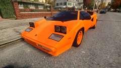 Lamborghini Countach LP400 S 1978 v1.0 для GTA 4