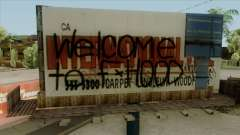 Felons Gang Environment and Graffiti для GTA San Andreas