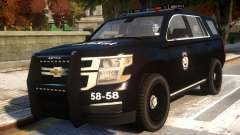 Chevrolet Tahoe Ozel Harekat для GTA 4