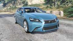 Lexus GS 350 F-Sport 2013 v1.1 [replace] для GTA 5