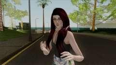 Samantha Casual v3 Sims 4 Custom для GTA San Andreas