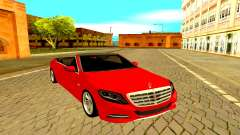 Mercedes-Maybach S600 X222 для GTA San Andreas