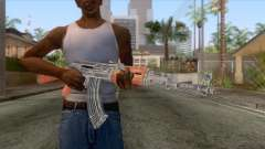AK-47 Assault Rifle HQ для GTA San Andreas