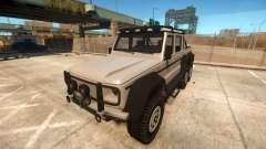 Benefactor Dubsta 6x6 для GTA 4