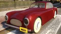 Cisitalia Coupe 39 для GTA 4