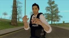 Detective Kurosawa from Binary Domain для GTA San Andreas