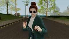 Mai Shiranui Korean Style v4 для GTA San Andreas