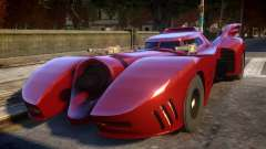 1992 Batmobile Movie Car Mod для GTA 4