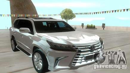 Lexus LX570 для GTA San Andreas