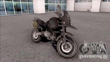 Мотоцикл из игры PUBG для GTA San Andreas